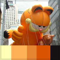 Color Scheme Inspiration &#8211; Giant Thanksgiving Parade Balloons